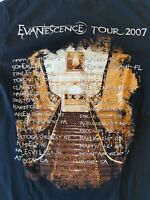 Vintage- EVANESCENCE 2007 CONCERT TOUR Size s small mens