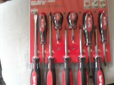 MILWAUKEE 10 PC.  SCREWDRIVER MAGNETIC TIPS SET.
