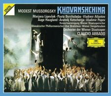 Claudio Abbado, M. Mussorgsky - Khovanshchina [New CD] Holland - Import