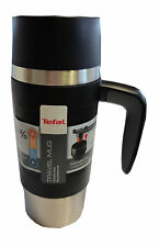 Tefal Travel Mug Thermobecher Reisebecher Isolierbecher Becher Schwarz 0,36 L
