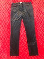 Burberry London Dark Blue Velour Pants Size M/L US 8 / UK 10
