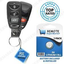 Replacement for Hyundai 2011-2015 Sonata Remote Car Key Fob Keyless Entry Alarm