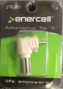 Enercell Adaptaplug Tip S 273-321  5.5mm O.D X 1.5mm I.D FREE SHIPPING!!