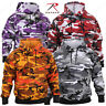 Rothco Camo Pullover Hoodie - Military Style Camouflage Hooded Sweatshirt