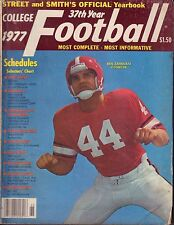 Street And Smith's 1977 College Football Yearbook Ben Zambiasi 072717nonjhe
