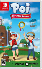 BRAND NEW Poi Explorer's Edition NINTENDO SWITCH Rare Game Hard to Find Limited