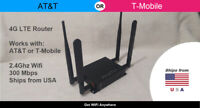 🔥 NEW! 4G LTE Wifi Router for AT&T / T-Mobile Unlocked Sim Card