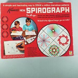 1967 Kenners Spirograph #401 Toys Spiral Patterns Vintage