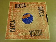"""78T 10"""" LP / BOBBEJAAN SCHOEPEN - MIJN LIEFSTE WENS / OH, LA LA"""