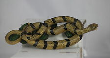 CURLED BANDED SNAKE MODEL - GREAT GIFT - COLLECTOR'S MODEL - TERRARIUM ORNAMENT