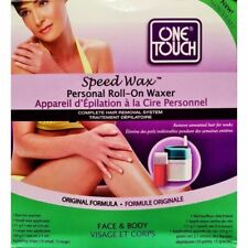 One Touch Speed Wax Personal Roll-On Waxer Complete Hair Removal System