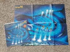Boney M. - Ten thousand lightyears Vinyl LP Germany WITH POSTER