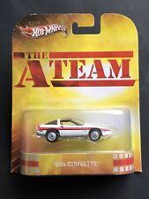 2012 Hot Wheels The A-Team 80s Corvette Die-Cast X8894 Moc