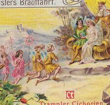 Vintage Fairy Kingdom Wedding Bride Waldmeisters Brautfahrt Otto Roquette Card
