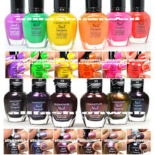 12 Kleancolor Summer Neon Set + Chromatic Colletion Nail Polish Lacquer Knp2+17
