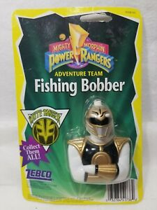 NOS Vintage Original Power Rangers Zebco White Ranger Fishing Bobber 1995 (H6)