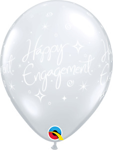 HEN NIGHT / ENGAGEMENT Qualatex Latex & Foil Party Balloons