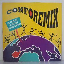 """Conforemix – Le Pays Où La Vie Est Moins Chère? (Vinyl 12"""", Maxi 33 Tours)"""