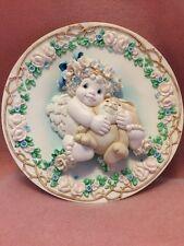 Dreamsicles Special Friends Sculptural Plate - A Hug From The Heart