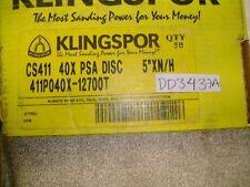 "5"" Psa Discs N/H Cs411 Grit 40X Klingspor (Dd3437A-50)"