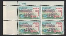 Scott 1248- MNH Plate Block- Nevada Statehood, Virginia City- 5c 1964- mint PB
