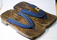 [Japan Made] Geta Paulownia Wood Mens Sandal Traditional Footwear 30cm 1575
