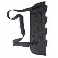 Tactical Molle Shotgun Scabbard Bag Shoulder Sling Case Padded Rifle Holster
