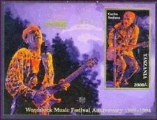 Tanzania- Woodstock Collector's Stamp Souvenir Sheet, Santana