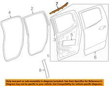 GM OEM Rear-Window Sweep Belt Felt Molding Left 23366282