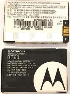 OEM Battery BT60 For Motorola C290 i880 ic902 Q V190 V195 V197 i580 Z6m A1200