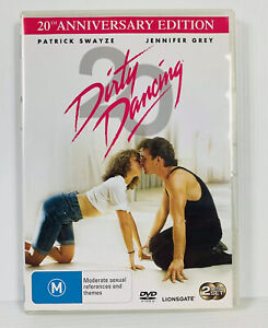 Dirty Dancing (DVD, 2008, 2-Disc Set) 20th Anniversary Edition Region 4