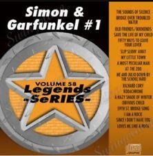 KARAOKE CDG  LEGENDS SERIES  VOL  58  SIMON & GARFUNKEL # 1    18 TRACKS