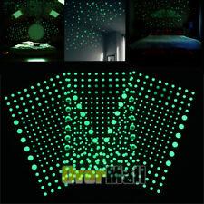 606pcs Bubble 3D Dots Luminous Sticker DIY Decoration Glow In Dark Fluorescent