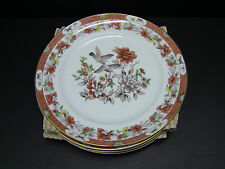 Vista Alegre Portugal MAGNOLIA Dinner Plates / Set of 4