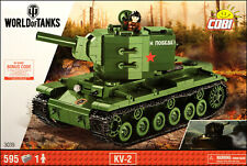 COBI KV-2 (3039) - 595 elem. - World of Tanks - WWII Soviet heavy tank