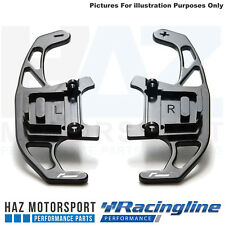 Racingline DSG Upgrade Paddle shift Shifters Golf Mk7 R GTI GTD GTE Noir Piano
