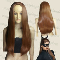 "32"" Batman the Dark Knight Rises Catwoman Wigs Adult size A12"