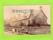 The Terrace Hutton Nr Berwick on Tweed RP pc used 1906 Ref C317