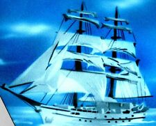 CLIPPER SHIP Airbrushed T-shirt NEW DESIGN All Sizes up to 6X