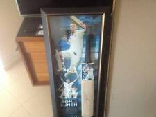A TON FOR LUNCH David Warner Signed Cricket Bat Signed Australia Cricket Bat
