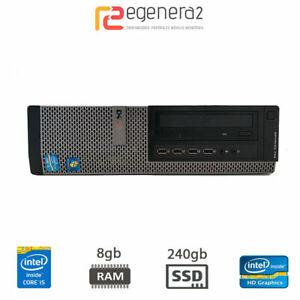 Dell Optiplex 790 SFF - i5-2400 4/8/16gb DDR3 HDD/SSD IntelHD Win10ProUpd DVD-CD