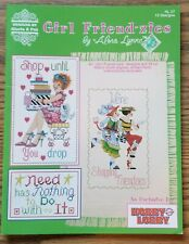 GIRL FRIEND-ZIES Cross Stitch PatternS from Designs by Gloria & Pat