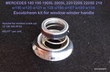 Mercedes Benz 170S - 220SE, 300, 190sl 300SL Ro Window Crank Set 136 768 00 03