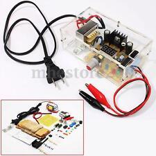 LM317 1.25V-12V Adjustable Voltage Power Supply Board Electronics DIY + Case