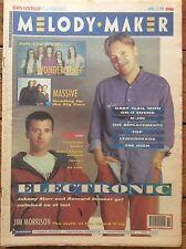 Melody Maker 13/04/91 Electronic Cover, Top, Wonder Stuff, On-U Sound