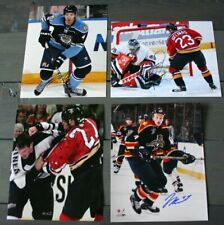 Lot 4 Auto'd Florida Panthers 8x10 Photos Ellerby Gelinas Mellanby Bouwmeester