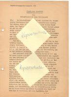 """WW 2 Kriegsbericht Panz.-Prop.-Kp.693 """"Stunde des Angriffs"""" Sommer 1942 Russland"""