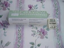 Wallpaper Parkview 20676857 Wine Lavender Green Leaves Vertical Floral 60% Off