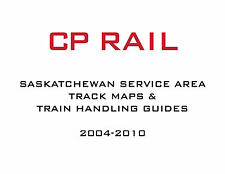 CP Rail Saskatchewan Service Area Industry Maps and Train Handling Charts CPR