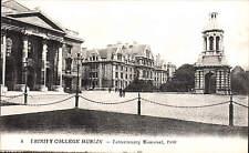 Dublin. Trinity College. Tercentenary Memorial by LL / Levy # 4. Black & White.